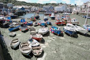 Mevagissey Harbour in Colour by CitizenJustin