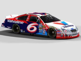 Nationwide 6 Valvoline Fusion by DarkBlueYoshi