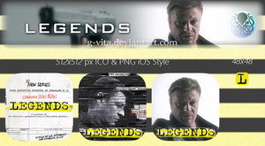 Legends TV Series Icon by g-Vita