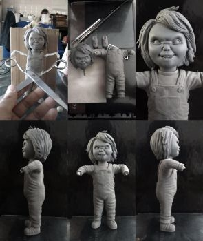 Child's play 2 Poster replica w.i.p. 2 by joeytheberzerker