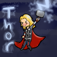 Lit up Thor by DuskofGold5