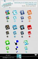 Social icons pack 2 by olybop
