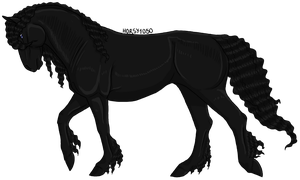 Friesian by horsy1050