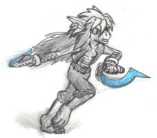 Squall Endymion, Zombie Hunter by Squall179