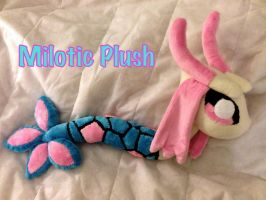 Milotic Plush by CeltysShadow