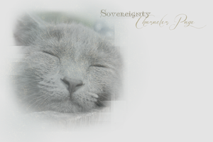 Sovereignty Character Page Layout -- Winter 2013 by leafeh22