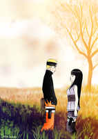 Naruhina fanart The Last CD's cover by Sissias