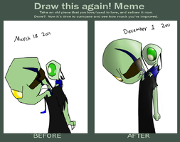 Draw This Again Meme by MochiFries