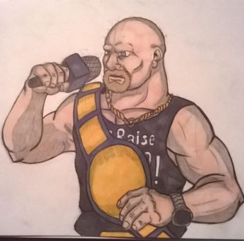 Stone Cold Steve Austin by The-Linkinator
