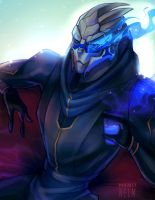 All around turian bad boy by projectnelm