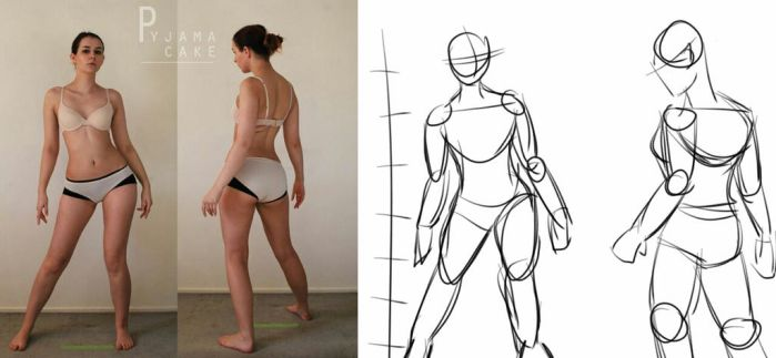 Character Design: BUILDING THE FIGURE by Anything2