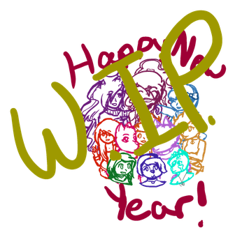 Happy New Year! (WIP) by CheesyBrizee