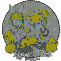 Kgamine twins firmi by Cook-chan