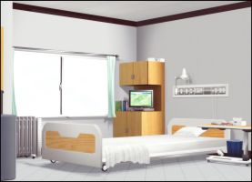Hospital Room by deexie