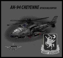 AH-95 Attack Helicopter by Andared