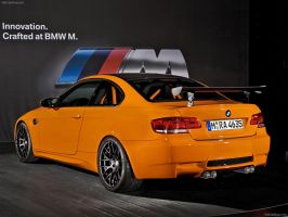BMW M3 GTS 2011 Back by TheCarloos