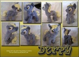 Full-sized Derpy Plush by sockfuzzy
