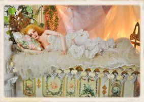 Gabriella BJD Ball jointed doll by SutherlandArt