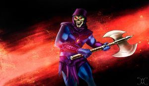 skeletor by willmottram
