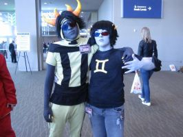 P2iioniic and Sollux by GameShift