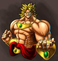 Broly Colors by MasterCarlock