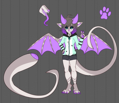 Anthro Monster Adopt pending by Ruxree