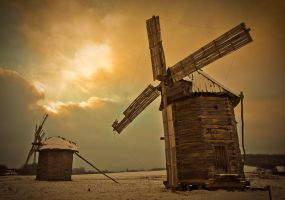 windmills by tsvan