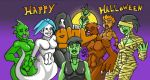 :D happy Halloween Doodle by AnthonyDavila