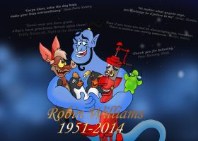 Robin Williams by raggyrabbit94