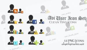 Avatar Free User Icon Set by cheth