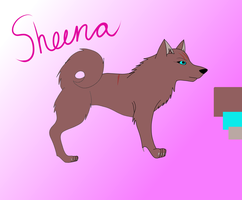 Sheena Reference Sheet by noss5
