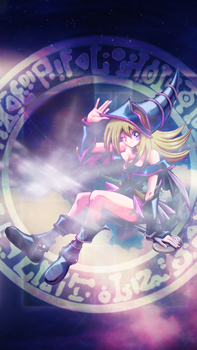 Dark Magician Girl Wallpaper for iPhone 5 5s by IgorBMaciel