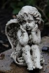 Angel Statue Stock 20 by Malleni-Stock