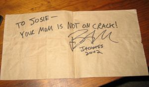 Bam Margera's Autograph by deadinside28713