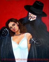 V for Vendetta by asamamoru