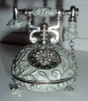 antique phone stock2 by DemoncherryStock