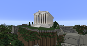 Minecraft - The Parthenon (WIP) by MinecraftArchitect90