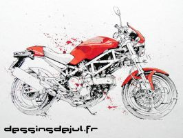 monster 620 by dessinsdejul