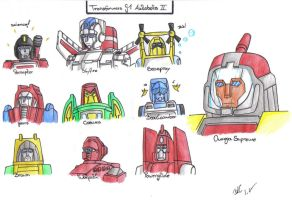 TF - G1 Autobots 2 by BeeLovesCade