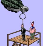 Saddam EXECUTED by Latuff2
