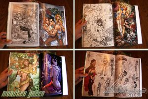MONSTER GREEN Interiors by J-Scott-Campbell