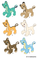 Points Adoptables --Sold-- by KashimusPrime