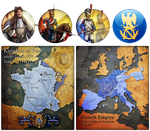 Civ 5 Mod Art - France Makeover by JanBoruta