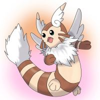 Mega-furret by miguetricker