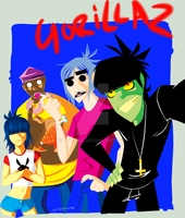 The Gorillaz by Lollonz