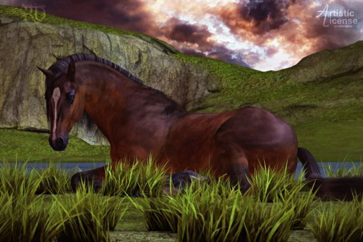 Beauty of the Plains by RavenMoonDesigns
