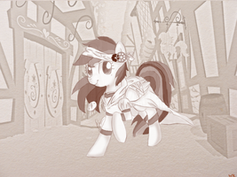 Steampunk Daring Do by Wishpercry