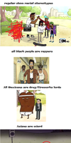 Racial Stereotypes In Regular Show by AceNos