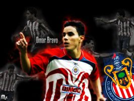 Omar Bravo by Momillo