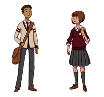 School Uniforms by Mags-Pi